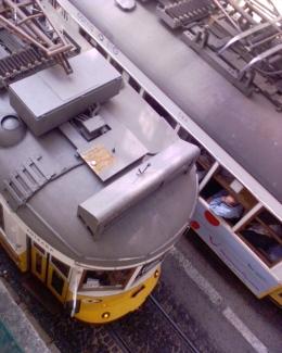 Dois electricós, Lisbon