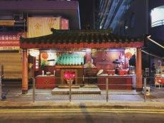 Urban temple, Whampoa, Hong Kong