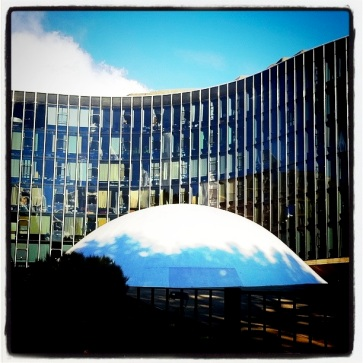 French Communist Party Headquarters, by Oscar Niemeyer
