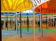 Excentrique(s) by Daniel Buren, at the Grand Palais, 2012