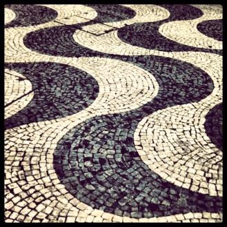 Calçada portuguesa, Rossio, Lisbon