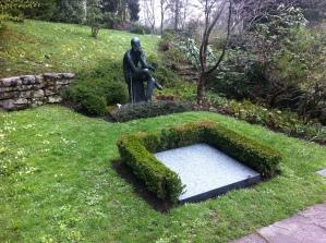 Here lies James Joyce
