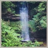 Glencar waterfall