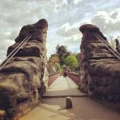 Footbrige, Buttes-Chaumont