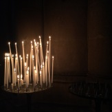 Candles, Reims cathedral