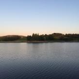 Reservoir sundown