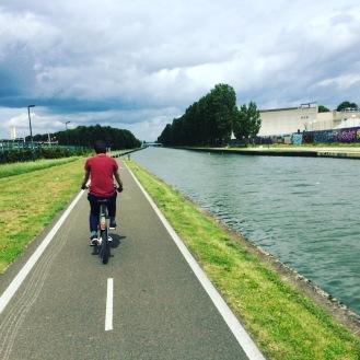 Canal cycle, Noisy-le-Sec